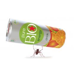 Bebida energética Pure Bio Energy pack 24 unidades