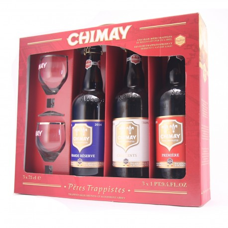 Gift pack Chimay 750 ml - 3 Unidades