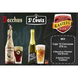 Mix Bacchus + Gueuze Fond Tradition 375 ml Caja 12 Cervezas