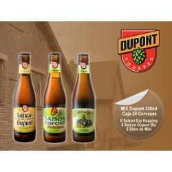 Mix Dupont 330 ml Caja 24 Cervezas