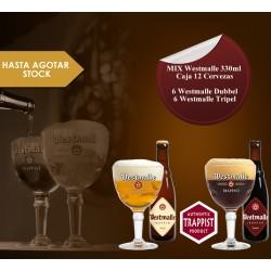 Mix Westmalle 330 ml Caja 24 Cervezas