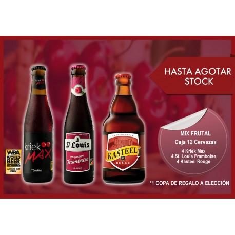 Mix Frutal - Caja 12 Cervezas   hasta agotar stock