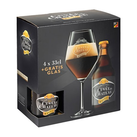 Gift pack- 4 Cuvee 33cl+Copa